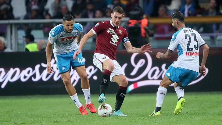 Un buon Toro ferma il Napoli sullo 0-0 e riparte