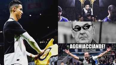 La Juve affonda l'Inter di Conte: le ironie sui social si scatenano