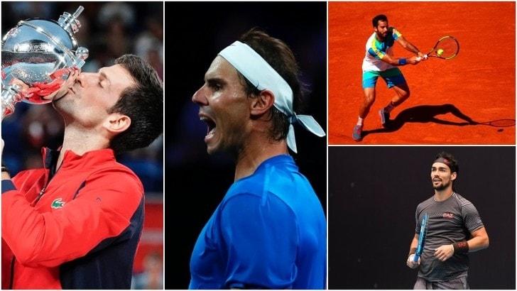 Otto italiani nella top 100 della classifica Atp. Djokovic re indiscusso