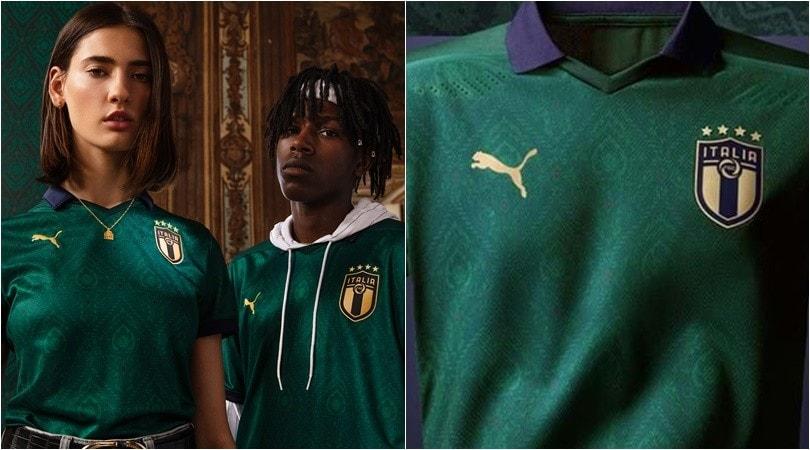 """Italia, la maglia verde è un omaggio ai """"giovani talenti"""""""