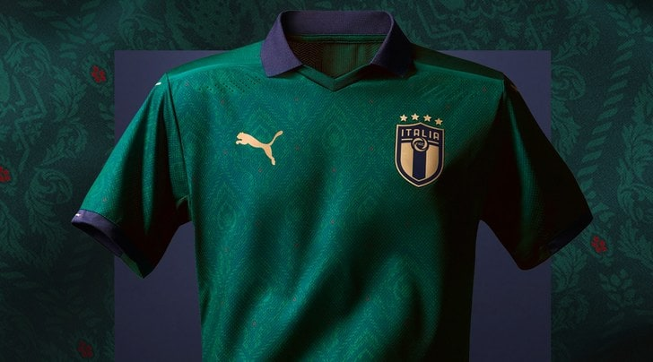 Italia, la nuova maglia verde fa discutere: ti piace? Vota