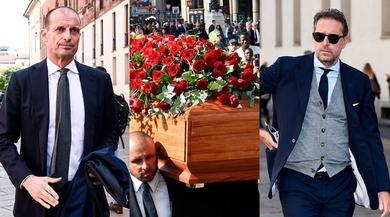 Funerali Squinzi: presenti anche Allegri e Paratici