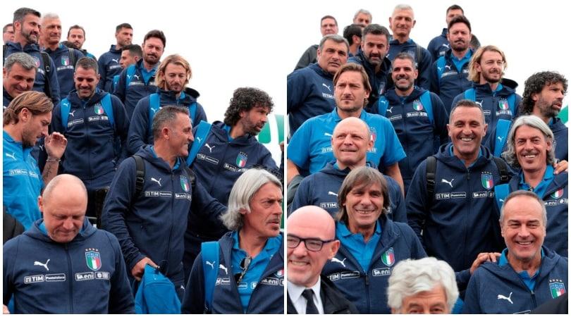 Da Peruzzi e Torricelli a Di Livio e Ravanelli: l'Italia Legends contro la Germania