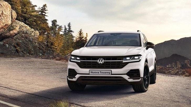 Volkswagen Touareg Black Style, che dotazione per il SUV