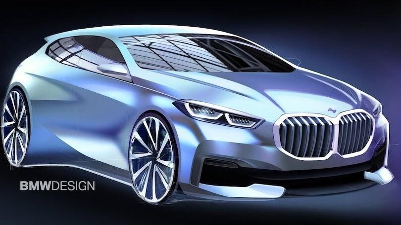 BMW Serie 1 elettrica, una i1 in sviluppo