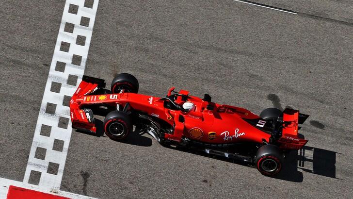 F1, test Pirelli: per Vettel 145 giri al Montmelò