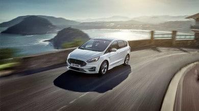 Ford S-Max e Galaxy 2020: gli scatti