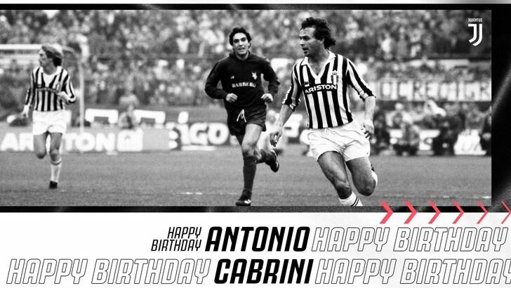 Antonio Cabrini, gli auguri della Juve: