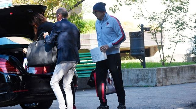 Mihajlovicdimesso: lascia l'ospedale di Bologna