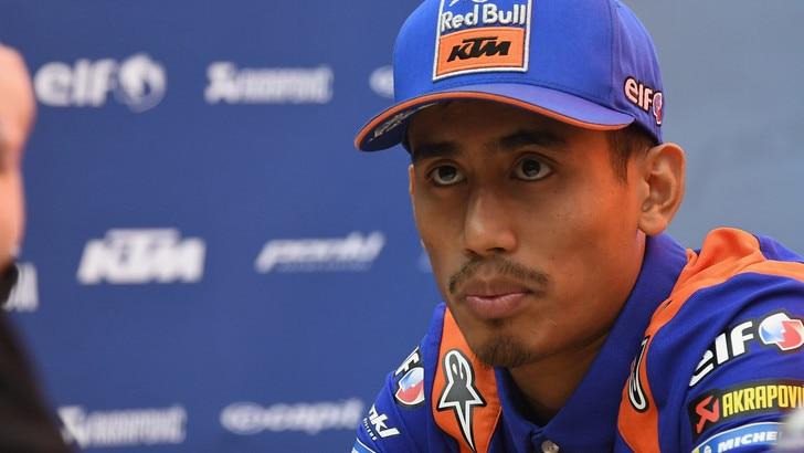 Syahrin torna in Moto2: correrà con il Team Nieto