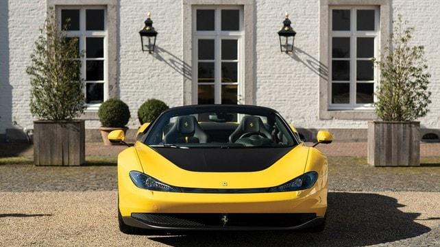 Ferrari Sergio Pininfarina: gli scatti
