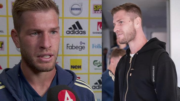 Gagliolo, l'emozione alla prima: «Un onore essere con la Svezia, grazie a mamma»