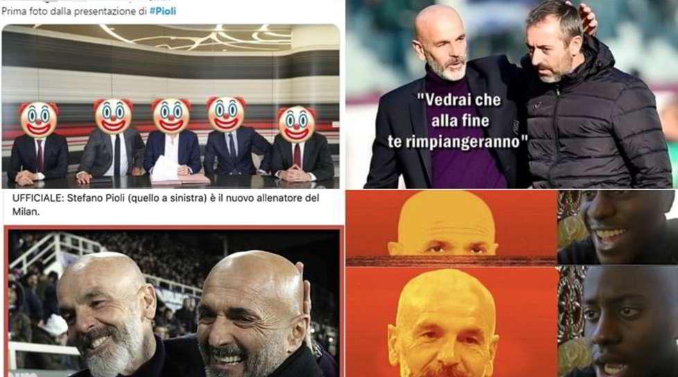 <p>Il club rossonero ha presentato il nuovo allenatore ma i sostenitori furiosisi sfogano sul web</p>