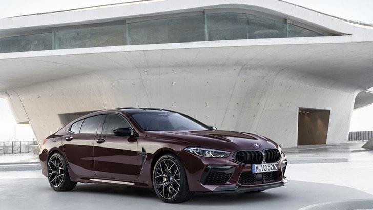 BMW M8 Gran Coupé Competition, tutta sua