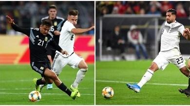 Germania-Argentina: Emre Can sfiora il gol, Dybala a intermittenza