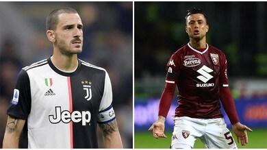 Bonucci ed Izzo tra i 10 sempre presenti in Serie A