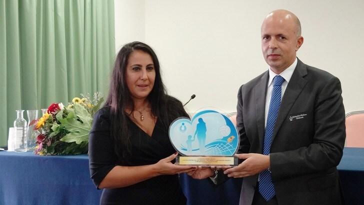 Il premio De Luca 2019 a Rachela Pristerà