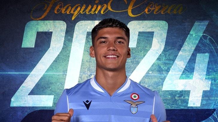 Lazio, Correa prolunga fino al 2024: è ufficiale