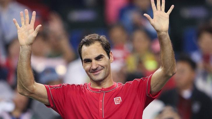 Shanghai, Goffin cede sotto i colpi di Federer