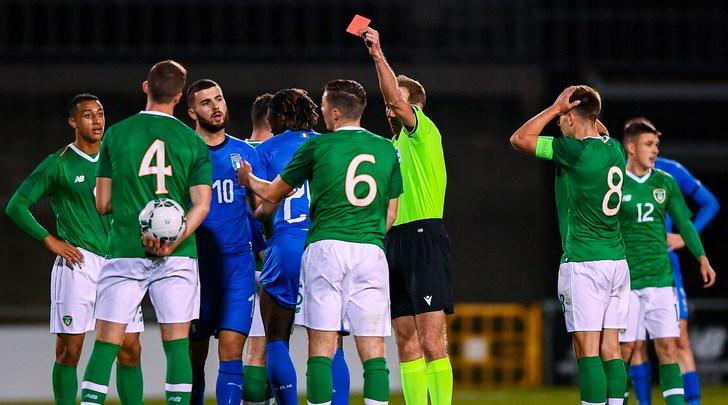 Under 21, l'Italia pareggia in Irlanda: Kean entra e si fa espellere