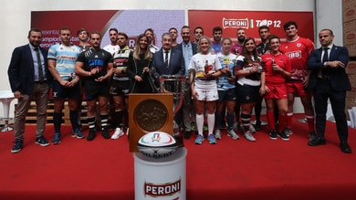 Peroni Top12, lanciata la 90ma stagione