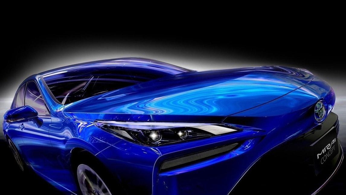 Toyota Mirai Concept 2020, scatti