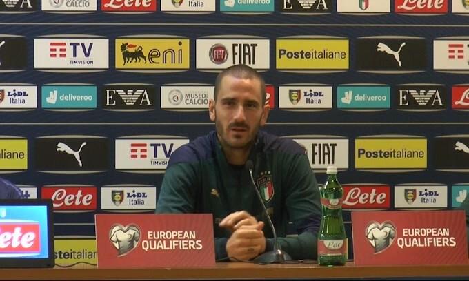 """Bonucci: """"100 con la Nazionale? Dipende dal mister"""""""