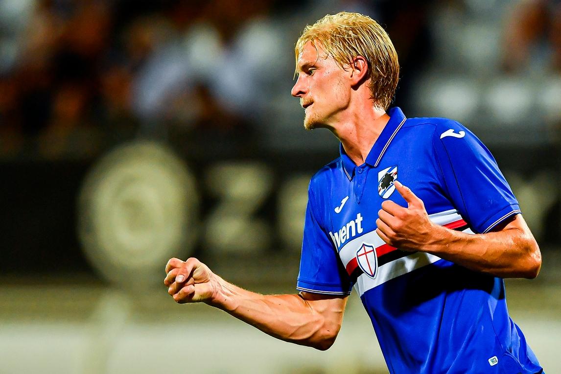 Sampdoria, Thorsby al lavoro tra campo e palestra