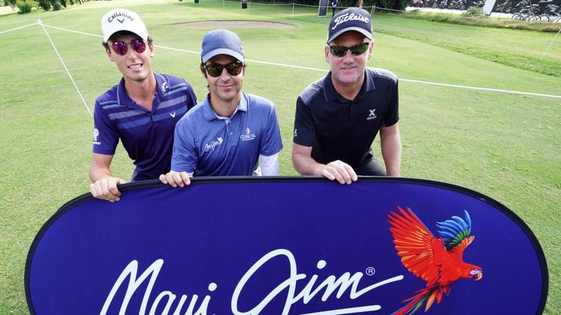 Golf: Al 76° Open d'Italia i brand Ambassador di Maui Jim si sfidano tra gara e gioco