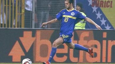 Bosnia, che Pjanic! Doppietta e 4-1 alla Finlandia