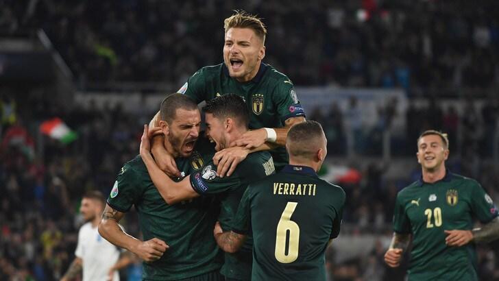 L'Italia batte 2-0 la Grecia e si qualifica per Euro 2020