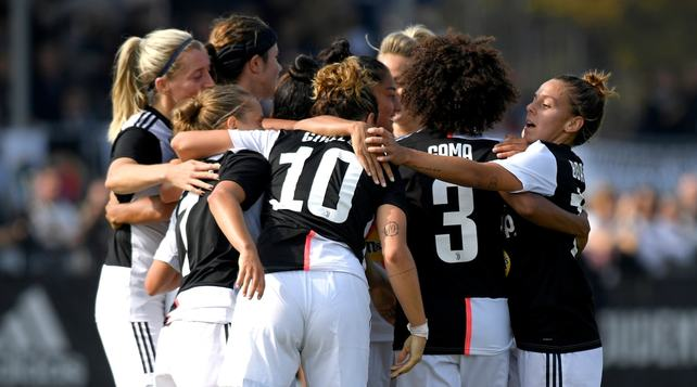 Juventus Women-Florentia 3-1: bianconere al primo posto