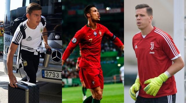 Juve, Da Ronaldo a Dybala: quando tornano i nazionali
