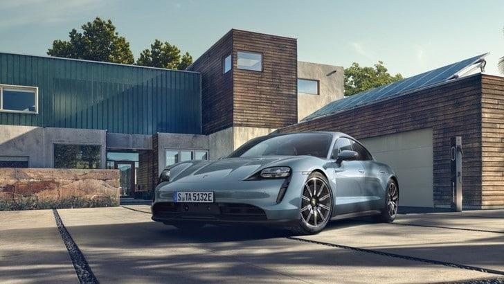 Porsche Taycan 4S, la gamma green aumenta