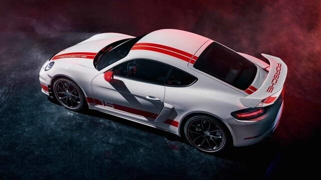 Porsche 718 Cayman GT4 Sports Cup Edition: gli scatti