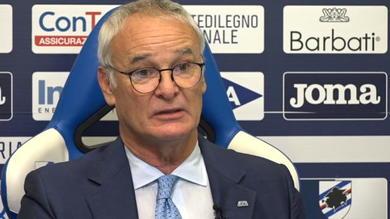 """Ranieri: """"Samp non è il Fulham, là si pensava agli algoritmi"""""""