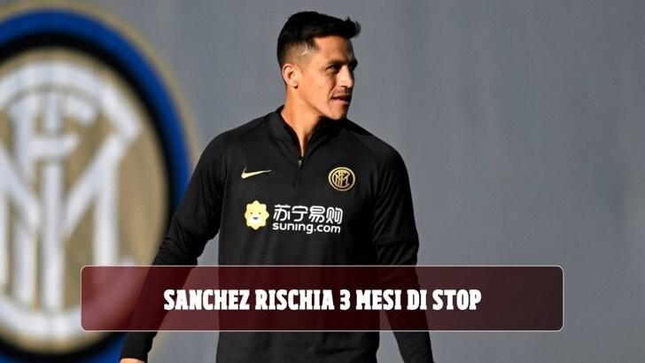 Inter, Sanchez rischia 3 mesi di stop