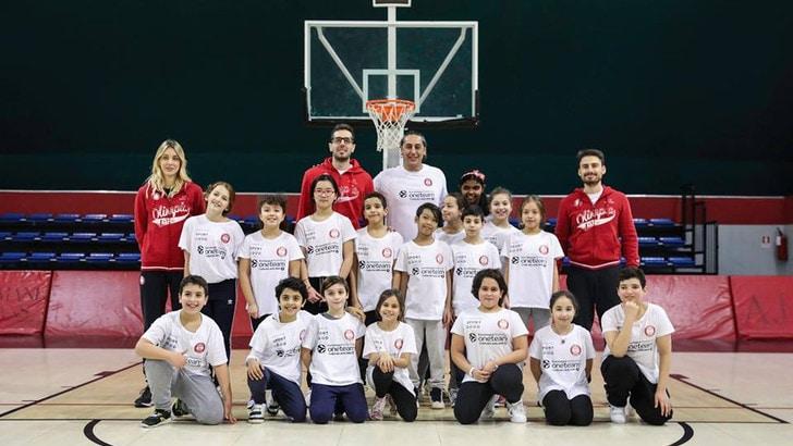 Fondazione Laureus Italia e Olimpia Milano insieme per One Team
