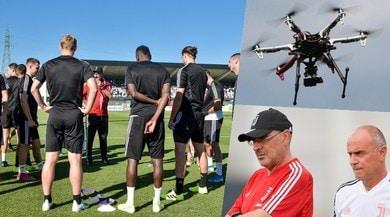 La Juve vola con i droni: è il segreto di Sarri per dare equilibrio alla squadra