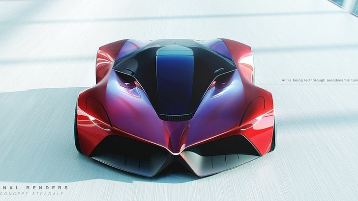 Hypercar Alfa Romeo: l'hanno immaginata così