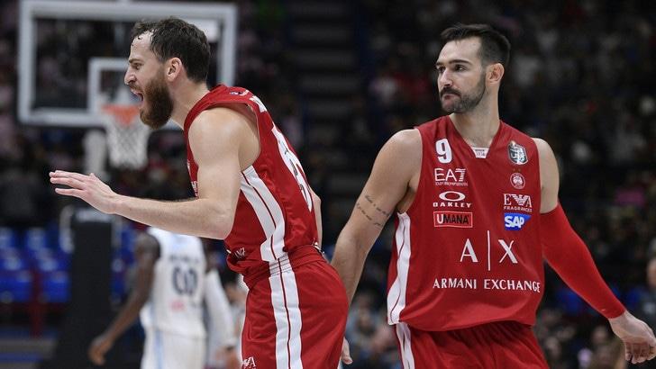 Eurolega, Olimpia Milano corsara ad Atene