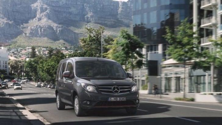 Mercedes Citan, il Van si aggiorna con motore Euro 6 e nuovo design