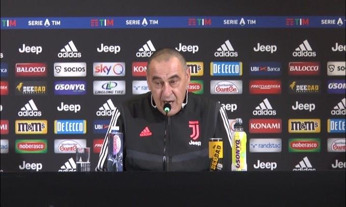 """Sarri: """"Spero di vedere Mihajlovic. Costa non rientra"""""""