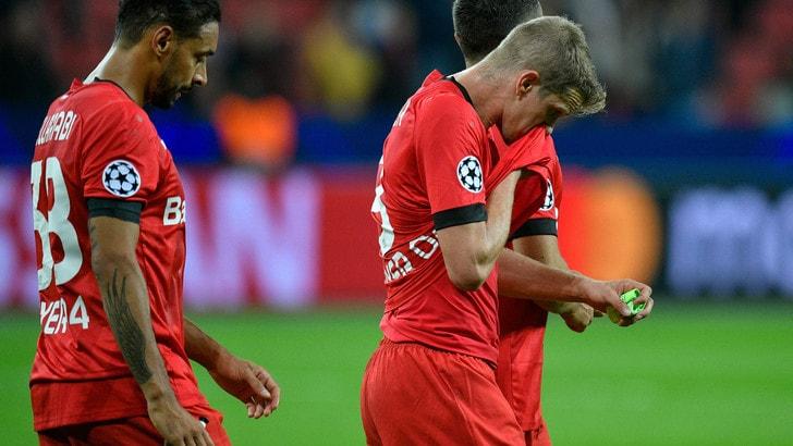 Bundesliga, tonfo Bayer: vince l'Eintracht 3-0