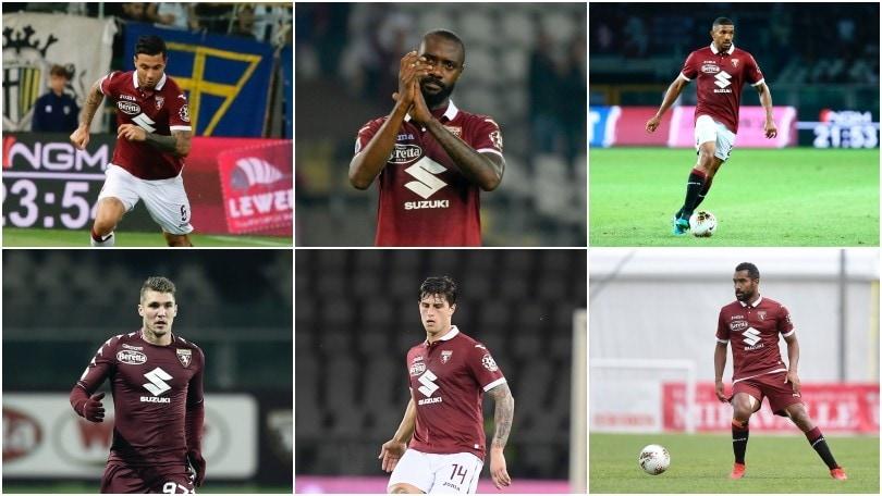 """Torino, tutti i """"tridenti"""" difensivi: guardate quanti cambiamenti!"""