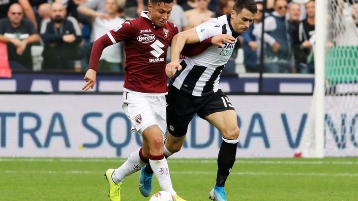 Udinese-Torino 1-0, il tabellino
