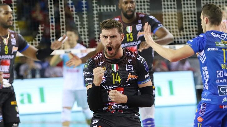 Civitanova-Sora e Perugia-Milano, in Superlega e tempo di anticipi