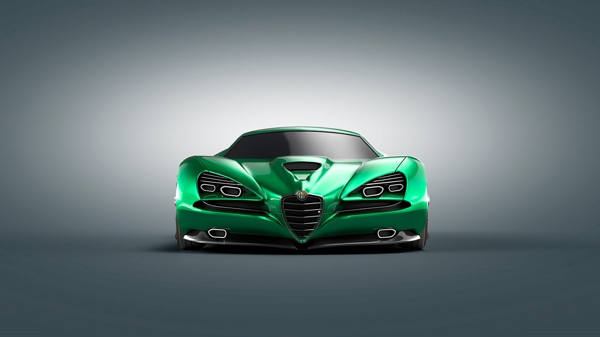 Alfa Romeo Montreal Vision GT: gli scatti