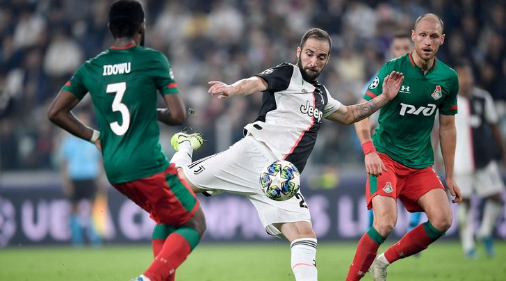 Juve-Lokomotiv, le pagelle: Higuain incide, De Ligt incerto