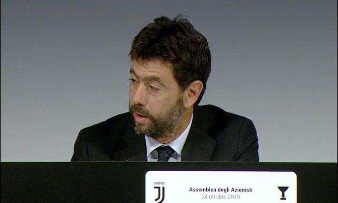 """Agnelli: """"Juve in alto anche grazie ad Allegri"""""""